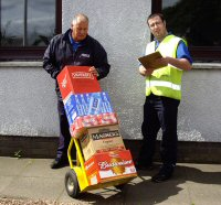 Delivery of Drinks & Confectionery
